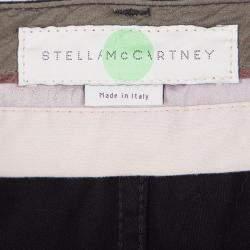 Stella McCartney Black Side Panel Detail High Waist Jeans M
