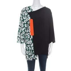 Stella McCartney Multicolor Poppy Printed Long Sleeve Jessie Top M