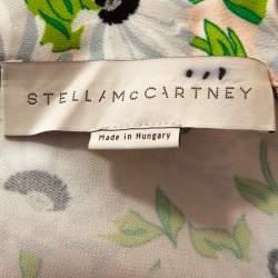 Stella McCartney Multicolor Floral Print Crepe Jumpsuit S