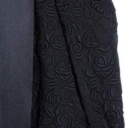 Stella McCartney Black Lace Bow Detail Strapless Dress S