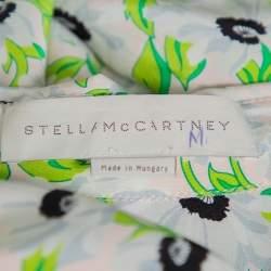 Stella McCartney Multicolor Floral Printed Silk Long Sleeve Eva Shirt S