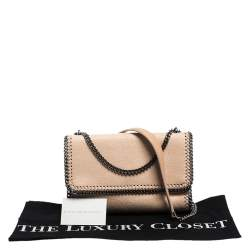 Stella McCartney Blush Pink Faux Leather Falabella Shoulder Bag