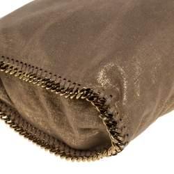 حقيبة يد ستيلا ماكرتنى صغيرة جلد صناعى لامع يبج