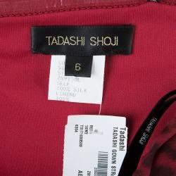 Tadashi Shoji Leopard Print Evening Gown M
