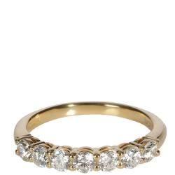 Tiffany & Co. Embrace Diamond 18K Yellow Gold Ring Size 51