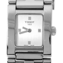 Tissot SIlver Stainless Steel L840K Women's Wristwatch 21 MM