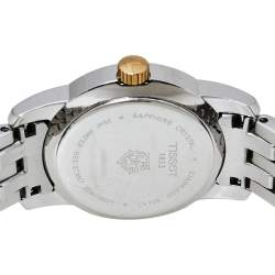 Tissot Mother of Pearl Two Tone Stainless Steel T033210A Women's Wristwatch 28 mm