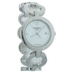 Tissot Mother of Pearl Stainless Steel Pinky T084210A Women's Wristwatch 28 mm