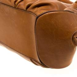 Tod's Brown Leather Peggy Satchel