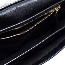 Tom Ford Black Leather Natalia Shoulder Bag