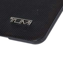 TUMI Black Leather and Rubber iPad Case