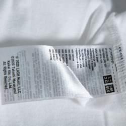 Uniqlo T Murakami X Billie Eilish White Cotton Short Sleeve T-Shirt S