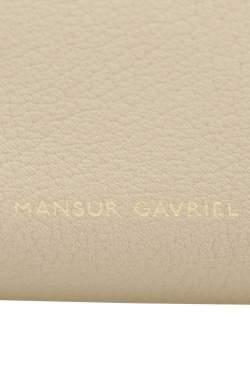 Mansur Gavriel Beige/Sand Tumble Leather Large Tote