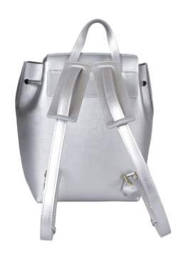 Mansur Gavriel Siler/Aregnto Leather Backpack