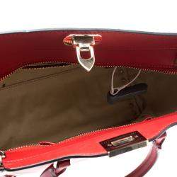 Valentino Rosso V. Leather Rockstud Tote
