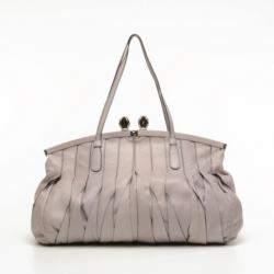 Valentino Vertical Pleated Handbag