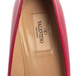 Valentino Red Rockstud  Kitten Heel Pumps Size 38