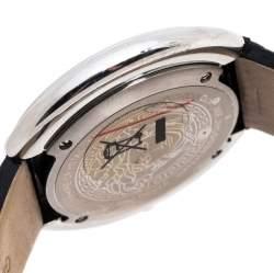 Versace Silver Stainless Steel Thea A7Q Women's Wristwatch 39MM