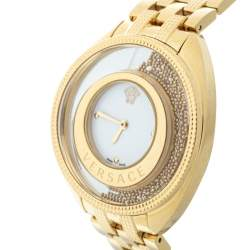 Versace Gold Plated Stainless Steel Destiny Spirit 86Q Women's Wristwatch 39 mm