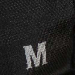 Vetements Black Logo Printed Knit Hoodie M