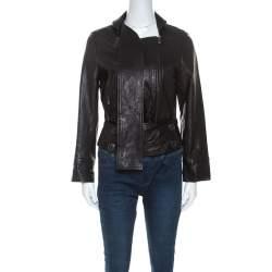 Vivienne Westwood Anglomania Black Leather Jacket M