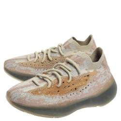 حذاء رياضي ييزي وأديداس بوست 380 ببر تريكو قطن متعدد الألوان مقاس 42