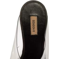 Yeezy Grey PVC Season 6 Mule Sandals Size 36