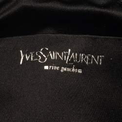 Yves Saint Laurent Black Suede Small Hobo