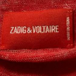 Zadig and Voltaire Red Marl Knit Roni WL Sweater XS