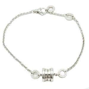 Blvgari B.Zero 1 White Gold Soft Bracelet