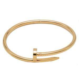 Cartier Just Un Clou Rose Gold Bracelet Size 18