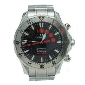 Omega Seamaster Chronograph Apnea Jacques Mayol Edition Steel Automatic Watch 42MM