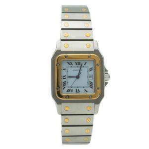 Cartier Santos Galbee Automatic Steel & Yellow Gold Women's Watch 29MM