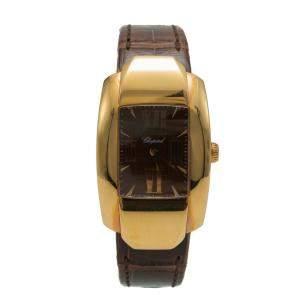 Chopard La Strada Rose Gold Chocolate Dial Women's Watch 44 MM
