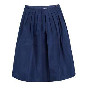 Miu Miu Blue Pleated Skirt M