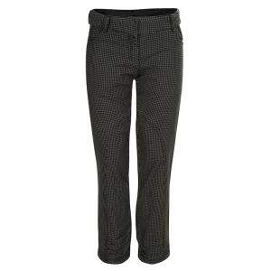 Baby Dior Brown Houndstooth Paneled Pants 8 Yrs