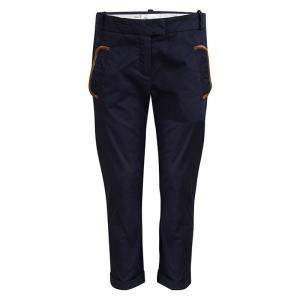 Chloe Navy Blue Pocket Flap Detail Trousers 10 Yrs