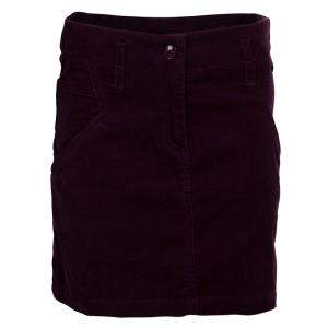 Dior Burgundy Corduroy Mini Skirt 8 Yrs