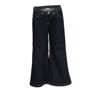 Ermanno Scervino Junior Indigo Dark Wash Denim Flared Jeans 8 Yrs