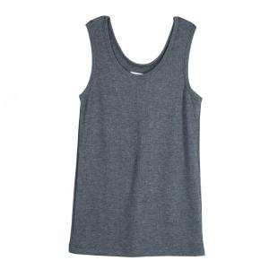Roma e Tosca Grey Melange Sleeveless Tank Top 10 Yrs