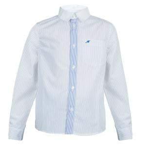 Simonetta Mini White Pinstripe Shirt 7 Yrs