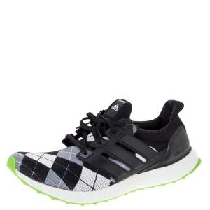 Adidas Multicolor Knit Fabric And Rubber Ultra Boost Kris Van Assche Sneaker Size 46