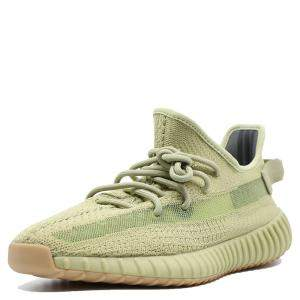 Yeezy 350 V2 Sulfur Sneakers Size 43 1/3