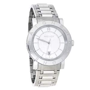 Aigner Silver Stainless Steel Cortina A26000 Women's Wristwatch 42 mm