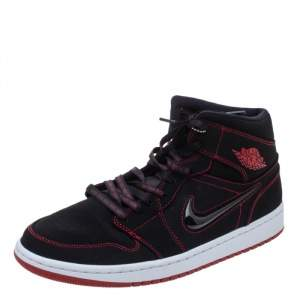 Jordan 1 Mid Fearless Come Fly With Me Sneakers Size 46