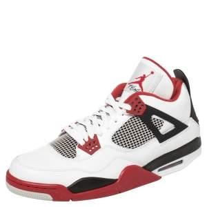 Air Jordan 4 Retro Fire Red (2020) Sneakers Size 47.5