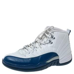 Air Jordan 12 Retro French Blue 2016 Leather Sneakers Size 45