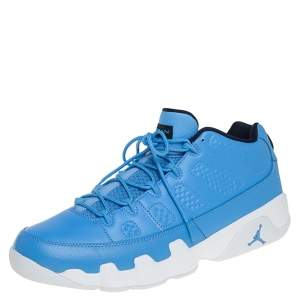 Air Jordan 9 Retro Low University Blue Pantone Sneakers Size 47.5