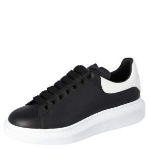 Alexander McQueen Black Oversized Runner Sneakers Size EU 39