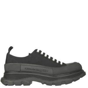 Alexander McQueen Black Tread Slick Sneaker Size IT 43